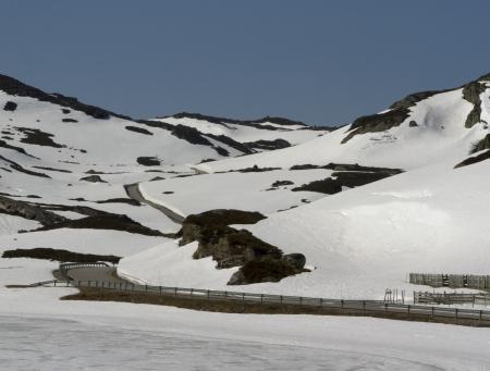eminence: Norwegian mountain road