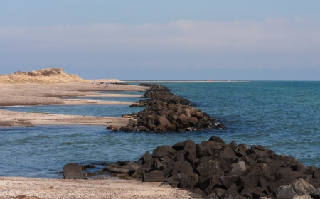 jutland: Coastline Stock Photo