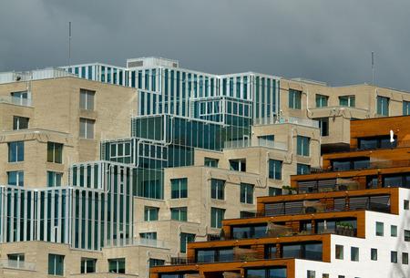 bulwark: Urban building Stock Photo