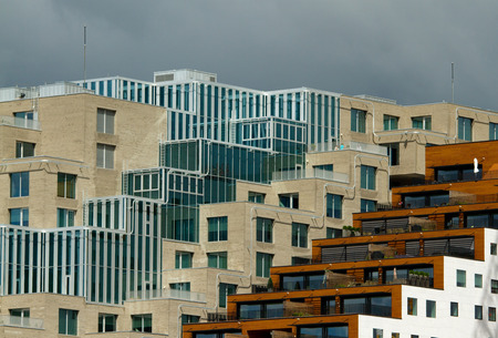fredrikstad: Urban building Stock Photo