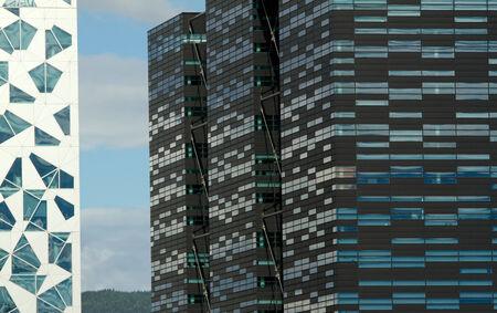 fredrikstad: Urban building Editorial