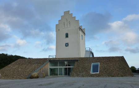 jutland: Renovated building Editorial