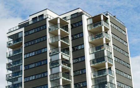 reside: Block of flats