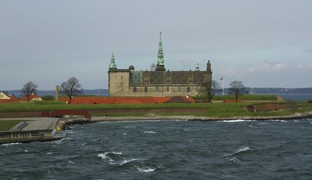 crown spire: Kronborg Castle