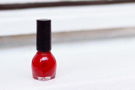 polish: Red nail polish