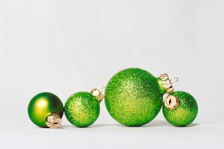 Vánoční ozdoby Reklamní fotografie