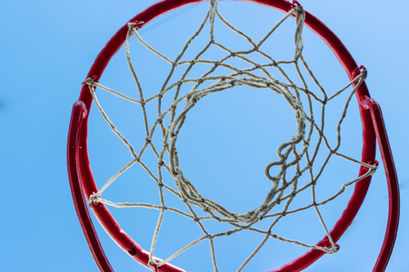 basketball background: Basketball cage