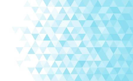 Abstract geometric low poly background. Vector monochrome triangular mosaic pattern.
