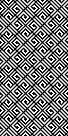 Ethnic vector geometric seamless pattern. Black and white stylish texture.