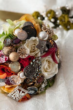 broach: The Broach Wedding Bouquet