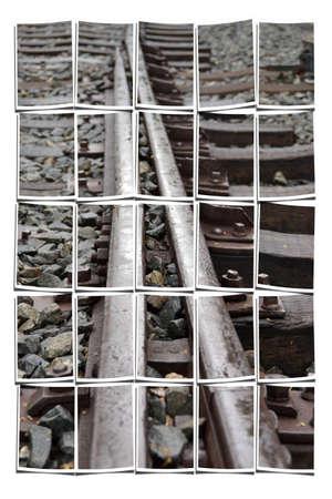 Collaging railroad