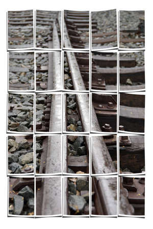 Collaging railroad