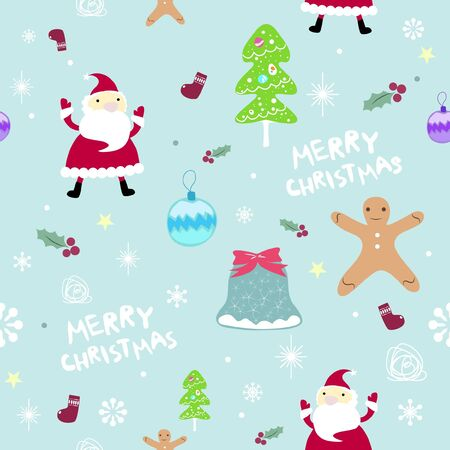 christmas seamless pattern: Christmas seamless pattern Illustration