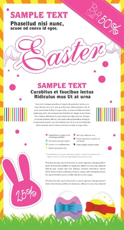 Flyer design template Stock Vector - 12495322