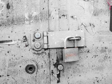 Close-up of a door with a lock