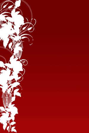 radical love: Hi-Resolution Floral Red Background