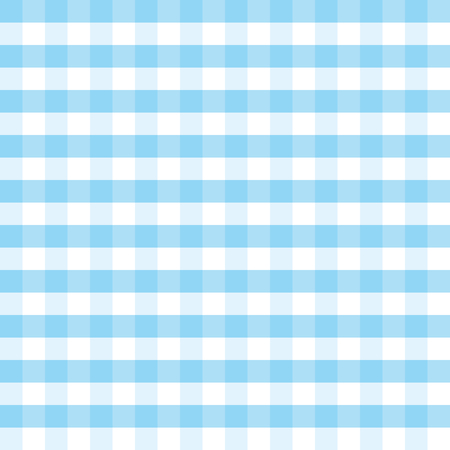 Blue and white plaid vector background. Square pattern. Great for textiles, table cloths, food background, wrapping paper, packaging. Perfect for Oktoberfest projects. Seamless checkered pattern. Illustration