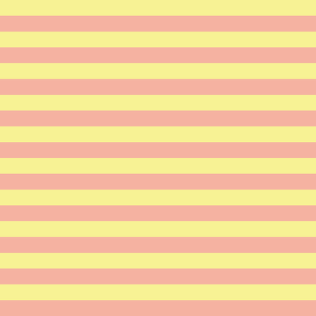 Coral orange and yellow horizontal stripes seamless pattern. Horizontal striped seamless vector pattern. Great for backgrounds, fabric, packaging, and all kind of paper projects. Coordinate pattern.