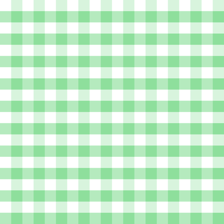 Green and white plaids seamless pattern. Checkered seamless vector pattern. Great for backgrounds, fabric, packaging, and all kind of paper projects. Easter background