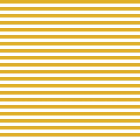Horizontal yellow and white stripes seamless vector background. Simple geometric pattern texture and coordinate Çizim
