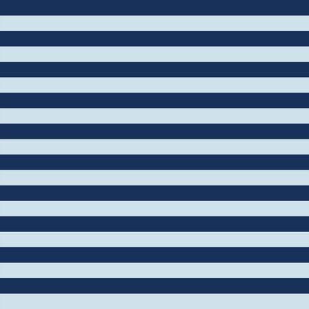 Horizontal light and dark blue stripes seamless vector background