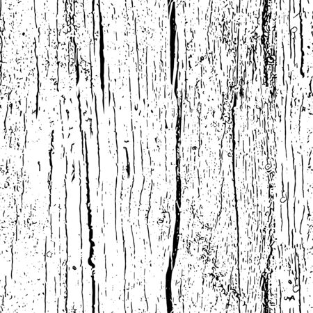 Wood texture seamless vector pattern. Wooden vertical grain texture. Abstract background