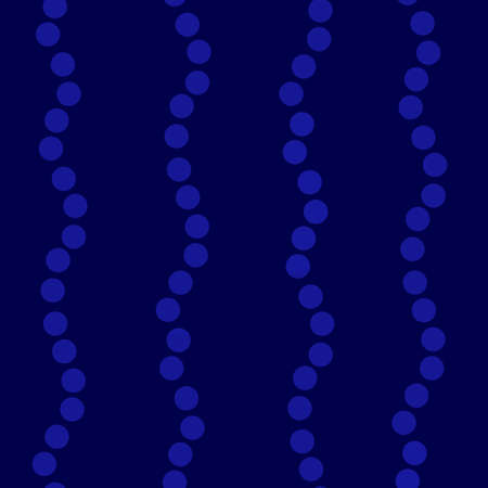 Blue Wavy Uneven Vertical Dots Stripes On blue background. Seamless pattern high quality resolution file.