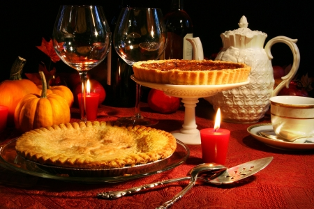 Festive desserts for thanksgiving Stock Photo - 2575352