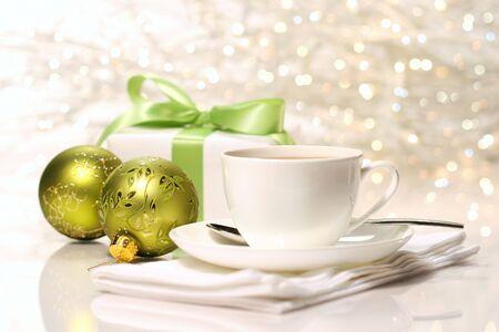 festividades: Pausa para la preparaci�n de las festividades de Navidad  Foto de archivo