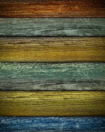 painted wood: Rustic colored barn wood background  Vertical