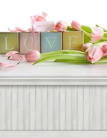 Spring, Mother Banque d'images