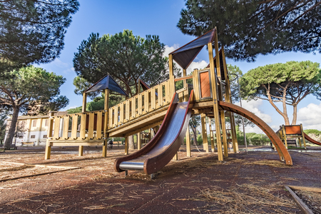 pino: Italy, Rome, Villa Dora Pamphili - 06 March 2016: Park of Villa Doria Pamphili is the largest park in Rome; It is a place where you can walk, run, ride a bicycle, relax and take the kids to have fun