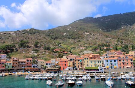 seaport: Seaport of the island of Giglio, Italy