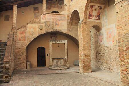 sump: Civic museum of San Gimignano, Italy