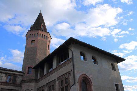 collegiate: Collegiate the SantOrso in Aosta, Italy