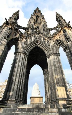 sir walter scott: Edinburgh, Scotland, Scott Monument Stock Photo