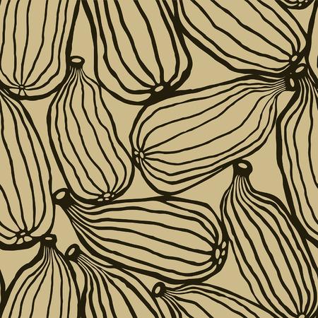 Cardamom | Sepia Ilustração