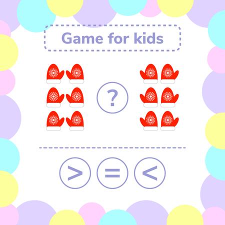 Mathematik Lernspiel Für Kinder. Lernen Zählen Und Algebra Kinder ...