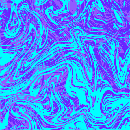 Vector illustration. Square abstract colored background. Marble texture. blue purple