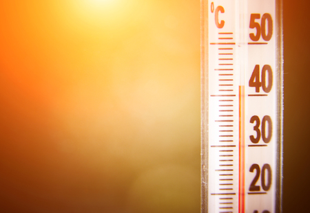 고온 용 온도계 스톡 콘텐츠