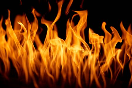 igniting: Fire flames background