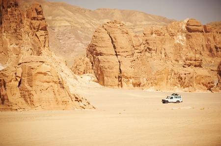 Landscape of Sinai desert