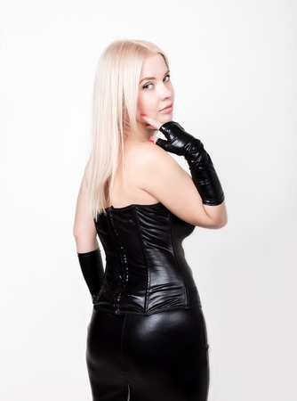 Leather Skirt Stock Photos And Images 123rf