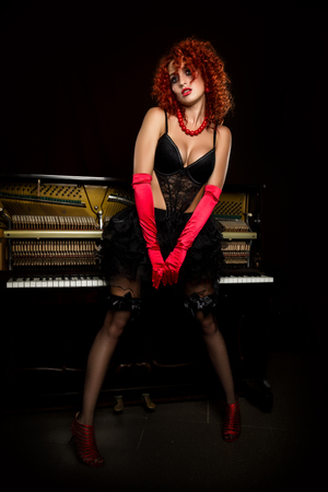 Art Female Body Viewed As Piano