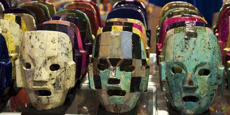 Máscaras Mayas  Foto de archivo - 1977509