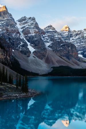 Moraine Lake Reflection, Banff National Park, Alberta Reklamní fotografie