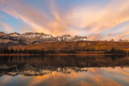 Golden Hour in Autumn, Jasper National Park, Alberta, Canada