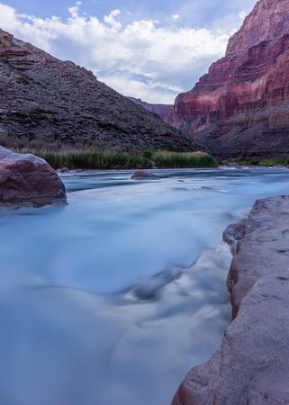 Long Exposure Little Colorado within Grand Canyon National Park Reklamní fotografie