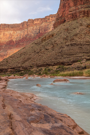 Little Colorado near its Confluence with the Colorado River in Grand Canyon National Park