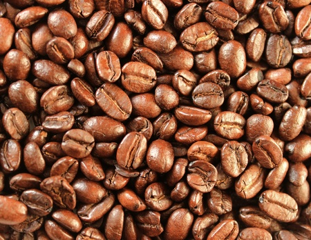coffee grounds: Coffee grounds as a backdrop. Stock Photo